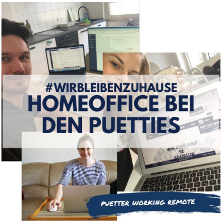 HomeOffice bei den Puetties Header Puetter Online