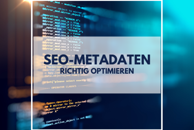 SEO Metadaten Puetter Online Marketing Köln