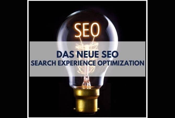Search Experience Optimization SEO puetter online
