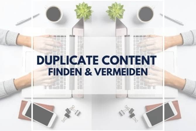 duplicate content puetter online marketing