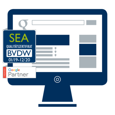 Certified SEA Agency 2018 Puetter GmbH