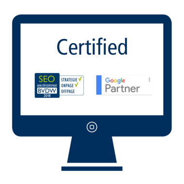 Certified SEO agency 2018 Puetter