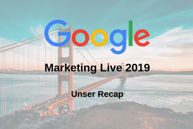 google marketing live san francisco recap