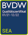 Qualitätszertifikat BVDW SEA Puetter Online Marketing Köln