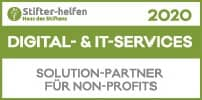 Digital- & IT-Services Engagement-Label 2020 Puetter GmbH