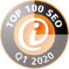 Certification Top 100 SEO-Dienstleister Q1 2020 Puetter GmbH
