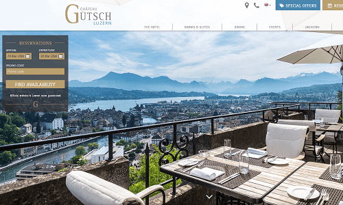 Online Marketing Referenz Puetter GmbH Chateau Gütsch