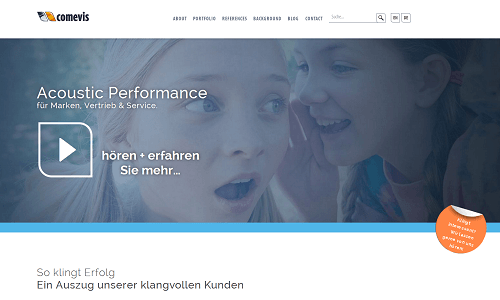 Online Marketing Referenz Puetter GmbH Comevis