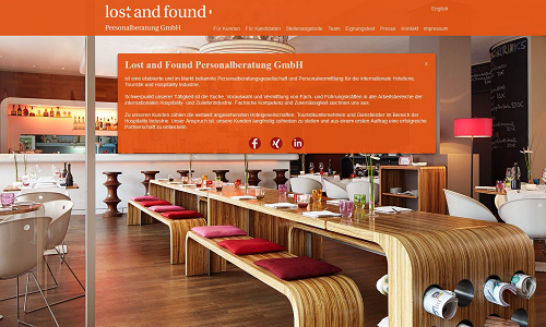 PR Referenz Puetter GmbH Lost and Found