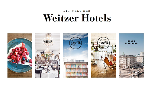 Projekt Online Marketing Referenz Puetter GmbH Weitzer Hotels