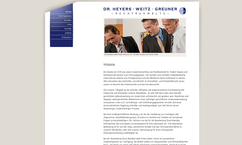 Online Marketing Referenz Puetter GmbH Heyers Partner