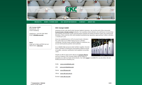 Website Relaunch Referenz Puetter GmbH EKC